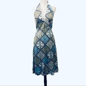Vintage Terri Juniors California Halter Dress